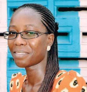 """Aisha Nelson, author of """"Rain Again"""""""